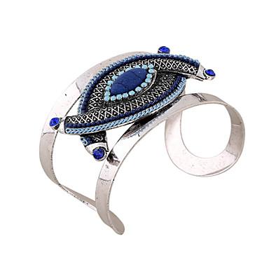 Dames Bangles Cuff armbanden ID-armband Vintage Bohémien Turks Modieus Hars Kunstdiamanten epäsäännöllinen Sieraden Speciale