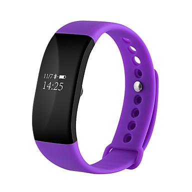 Smart-Armband Touchscreen Herzschlagmonitor Wasserdicht Verbrannte Kalorien Schrittzähler Übungs Tabelle Distanz Messung Information