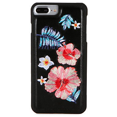 Hülle Für Apple iPhone 7 Plus iPhone 7 Muster Rückseite Blume Hart PC für iPhone 7 Plus iPhone 7 iPhone 6s Plus iPhone 6s iPhone 6 Plus