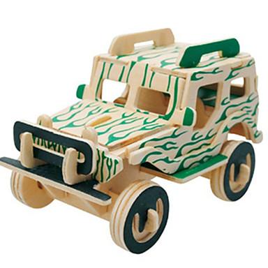 Puzzle 3D Puzzle Modelul lemnului Aeronavă Mașină Clădire celebru Arhitectură 3D Reparații Lemn Clasic 6 ani și peste