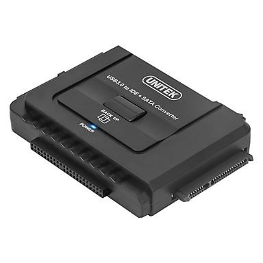 Unitek USB 3.0 어댑터 케이블, USB 3.0 to SATA III IDE 어댑터 케이블 Male - Male 0.8M (2.6Ft)