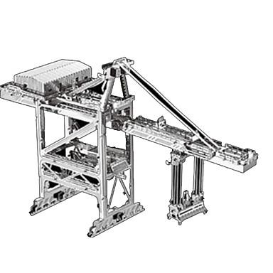 لعبة سيارات قطع تركيب3D تركيب معدني شاحنة معمارية 3D اصنع بنفسك كروم معدن كلاسيكي شاحنة سيارة الحفريات Dozer للأطفال صبيان للجنسين هدية