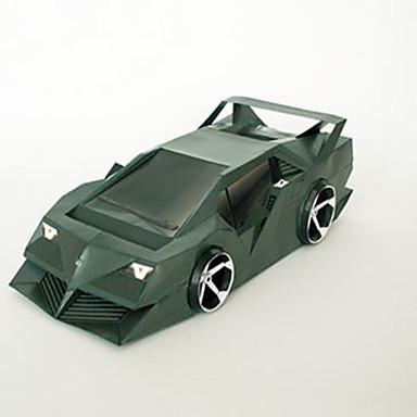 Jucării pentru mașini Puzzle 3D Modelul de hârtie Pătrat Reparații Hârtie Rigidă pentru Felicitări Clasic Băieți Unisex Cadou