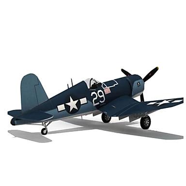 3D-puzzels Bouwplaat Speelgoedzweefvliegtuigen Modelbouwsets Papierkunst Vierkant Vliegtuig 3D DHZ Simulatie HardKaart Paper Klassiek