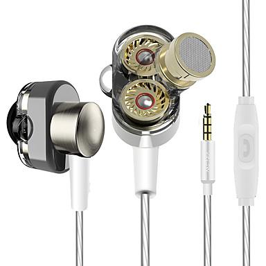 في الاذن سلكي Headphones ديناميكي بلاستيك الرياضة واللياقة البدنية سماعة عزل الضوضاء سماعة