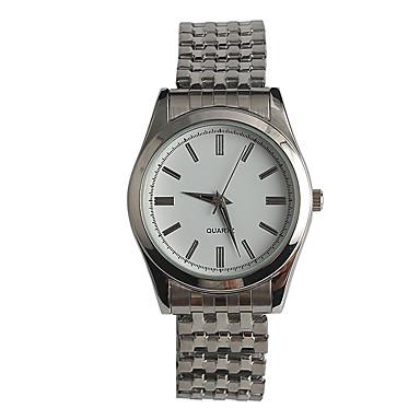 Dames Modieus horloge Japans Kwarts / Roestvrij staal Band Vrijetijdsschoenen Zilver