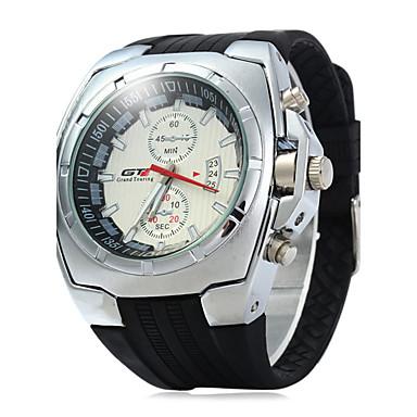 Bărbați Ceas La Modă Ceas Sport Ceas Elegant  Chineză Quartz Calendar Cauciuc Bandă Casual Cool Negru