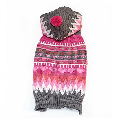 Câine Costume Îmbrăcăminte Câini Iarnă Cosplay Dungi Pentru animale de companie