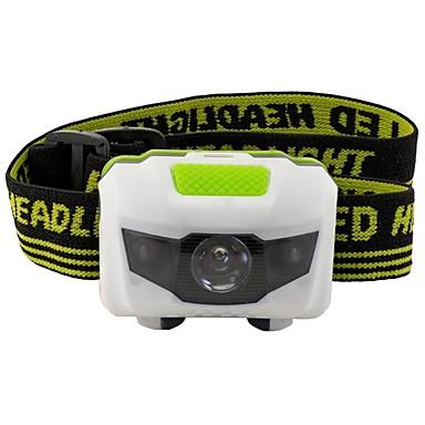 ieftine Frontale-Frontale 500 lm LED LED emițători 3 Mod Zbor Alarmă Lumină LED Ușor de transportat Camping / Cățărare / Speologie Utilizare Zilnică Ciclism