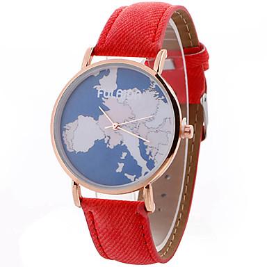 Pentru femei Unic Creative ceas Ceas de Mână Ceas La Modă Ceas Sport Ceas Casual Quartz Piele Bandă Charm Lux Creative Casual Elegant Cool