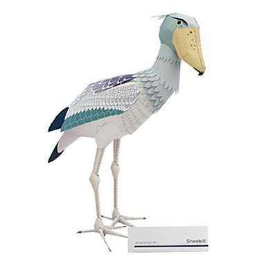 3D - Puzzle Papiermodel Modellbausätze Quadratisch Tiere Heimwerken Hartkartonpapier Klassisch Alle Altersgruppen