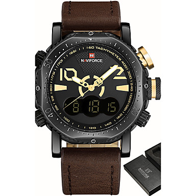 Heren Digitaal horloge Sporthorloge Militair horloge Dress horloge Modieus horloge Polshorloge Armbandhorloge Unieke creatieve horloge