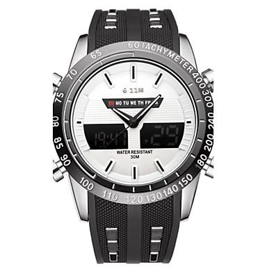 Heren Sporthorloge Modieus horloge Polshorloge Unieke creatieve horloge Vrijetijdshorloge Chinees Kwarts Kalender Waterbestendig Grote