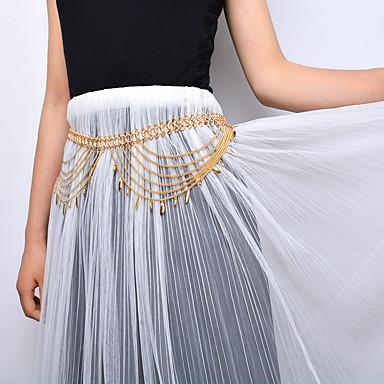 للمرأة مجوهرات الجسم  سلسلة بطن موضة والمجوهرات سبيكة قطرة مجوهرات من أجل خشبة المسرح ملابس الخارج ذهاب للخارج