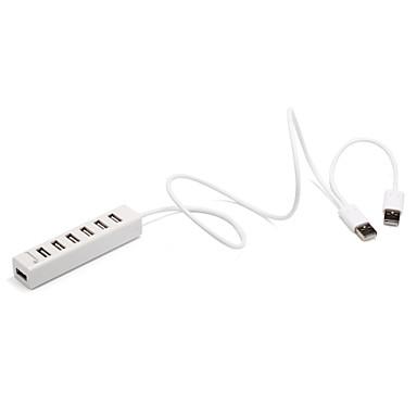 7 porturi USB 2.0 de mare viteză hub 480mbps dimensiunea barei