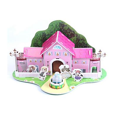 Puzzle 3D Puzzle Modelul de hârtie Μοντέλα και κιτ δόμησης Casă Arhitectură 3D Reparații Hârtie de înaltă calitate Clasic Pentru copii