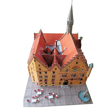 3D - Puzzle Papiermodel Papiermodelle Modellbausätze Berühmte Gebäude Architektur 3D Heimwerken Klassisch Unisex Geschenk