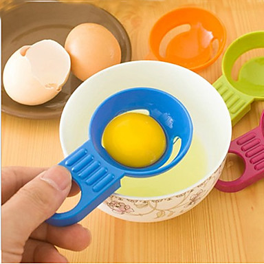 Şeker renk yumurta ayırıcı yumurta beyaz yumurta ayırıcılar mutfak pişirme aracı