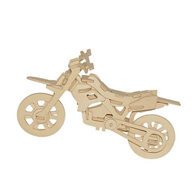 3D-puzzels Metalen puzzels Houten modellen Modelbouwsets Motorfietsen DHZ Natuurlijk Hout Klassiek Unisex Geschenk