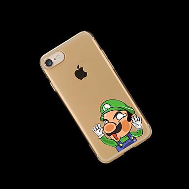 Per per 7 Per retro Transparente iPhone Plus Fantasia Cartoni disegno iPhone 7 iPhone TPU 7 Morbido iPhone Custodia Apple animati Plus 7 06052231 qvwtawgd