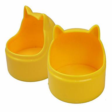 Katze Hund Schalen & Wasser Flaschen Haustiere Schüsseln & Füttern Wasserdicht Regolabile/Einziehbar Tragbar Doppel-seitig Klappbar