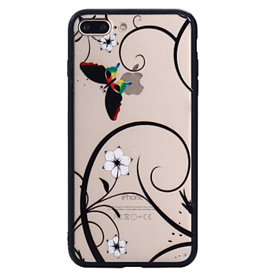 Pentru Apple iphone 7plus 7 telefon caz combo fluture model pictat vopsea relief cartea telefon 6s plus 6plus 6s 6 se 5s 5