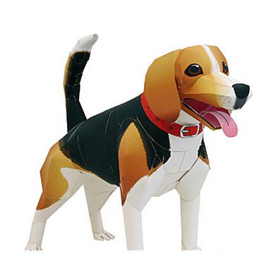 قطع تركيب3D تركيب أشغال الورق مجموعات البناء كلاب الحيوانات محاكاة اصنع بنفسك كلاسيكي للجنسين هدية