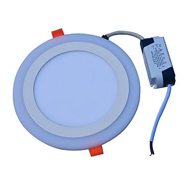 JIAWEN 18W 90 LEDs Decoratief Paneellampen Koel wit Blauw AC85-265