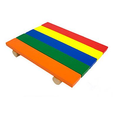 Nagetiere Pelzige Kleintiere Holz Spielzeuge Regenbogen