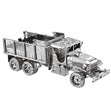 Spielzeug-Autos 3D - Puzzle Metallpuzzle Pferd LKW Heimwerken Chrom Metal Klassisch 6 Jahre alt und höher