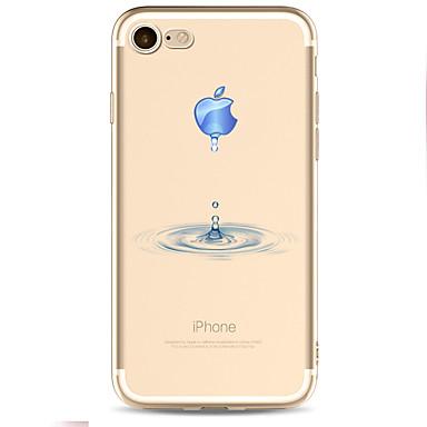 من أجل أغط / كفرات نموذج غطاء خلفي غطاء اللعب بشعار آبل ناعم TPU إلى Appleفون 7 زائد فون 7 iPhone 6s Plus iPhone 6 Plus iPhone 6s أيفون 6