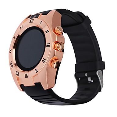 Heren Smart horloge Rubber Band Zwart