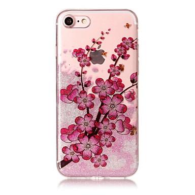 Fall für iphone 7 7plus 6s 6 6plus 6s plus se 5s 5 Fallabdeckung Pflaumeblütenmuster hohes transparentes tpu Material imd Fertigkeit