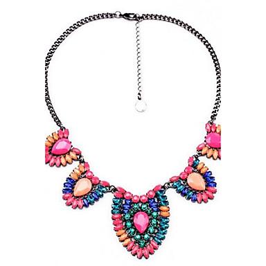Pentru femei Coliere Geometric Shape Aliaj Personalizat Vintage Curcubeu Boem Modă Bijuterii Pentru Ceremonie Casual Concediu Festival