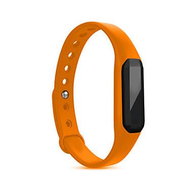Herrn Sportuhr Smart Watch digital Herzschlagmonitor Wasserdicht Caucho Band Schwarz Blau Silber Orange