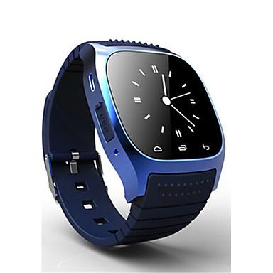 Herrn digital Armbanduhr Wasserdicht Caucho Band Charme Modisch Schwarz Weiß Blau