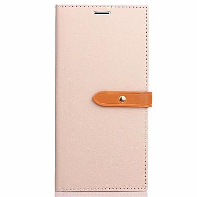 Hülle Für Samsung Galaxy S8 Plus S8 Kreditkartenfächer mit Halterung Flipbare Hülle Handyhülle für das ganze Handy Volltonfarbe Hart