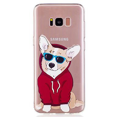 غطاء من أجل Samsung Galaxy S8 Plus S8 نموذج غطاء خلفي كلب كارتون ناعم TPU إلى S8 S8 Plus S7 edge S7 S6 edge S6