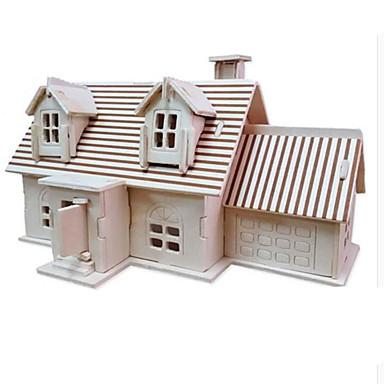 قطع تركيب3D تركيب مجموعات البناء بناء مشهور معمارية اصنع بنفسك الخشب الطبيعي كلاسيكي للأطفال للجنسين هدية