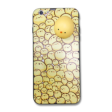Hülle Für Apple Muster Matschig Rückseitenabdeckung Tier Hart Acryl für iPhone 7 plus iPhone 7 iPhone 6s Plus iPhone 6 Plus iPhone 6s