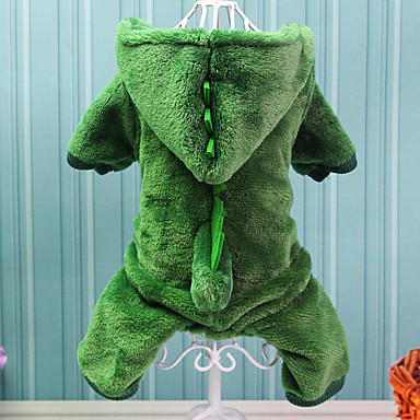 cheap Dog Clothing & Accessories-Dog Costume Dog Clothes Animal Cotton Costume For Winter Cosplay