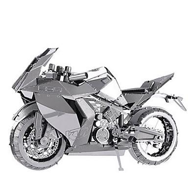 Speelgoedauto's 3D-puzzels Legpuzzel Metalen puzzels Motorfietsen Speeltjes Motorfietsen 3D DHZ Aluminium Metaal Niet gespecificeerd Stuks