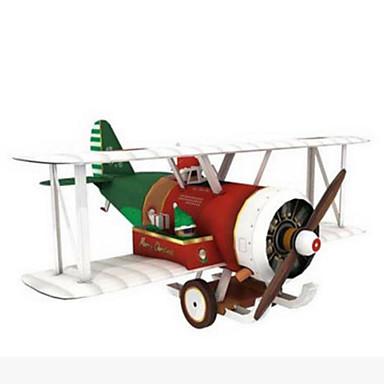 قطع تركيب3D نموذج الورق لعبة الطائرات الشراعية أشغال الورق مجموعات البناء مربع طيارة محاكاة اصنع بنفسك ورق صلب صبيان للجنسين هدية