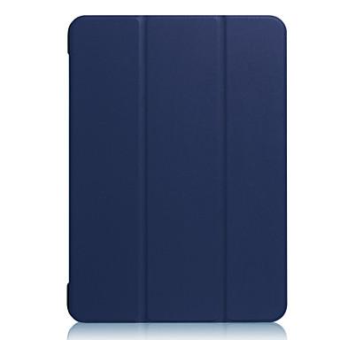 hoesje Voor Apple Schokbestendig Flip Ultradun Magnetisch Auto Slapen/Ontwaken Volledige behuizing Effen Kleur Hard PU-leer voor iPad Pro