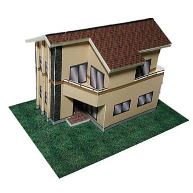Puzzle 3D Lucru Manual Din Hârtie Casă Reparații Clasic Unisex Cadou