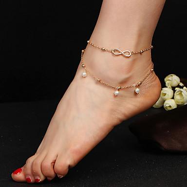 للمرأة خلخال/سوار سبيكة موضة قطرة مجوهرات من أجل فضفاض رياضة وترفيه
