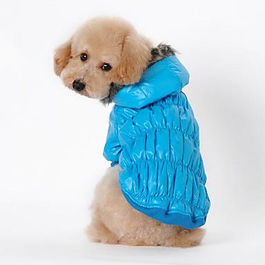 Câine Haine Îmbrăcăminte Câini Respirabil Casul/Zilnic Solid Negru Cafea Rosu Albastru Costume Pentru animale de companie