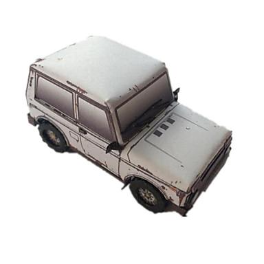 Spielzeug-Autos 3D - Puzzle Holzpuzzle Papiermodelle Auto Einrichtungsartikel Heimwerken Klassisch Jungen Unisex Geschenk