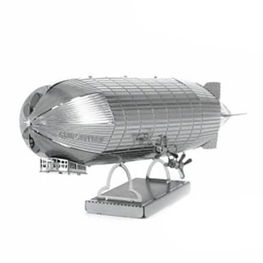 3D-puzzels Legpuzzel Metalen puzzels Modelbouwsets Vliegtuig 3D DHZ Roestvast staal Kromi Metaal Unisex Geschenk