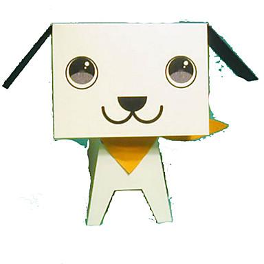 3D-puzzels Bouwplaat Papierkunst Modelbouwsets Cirkelvormig Honden Dieren DHZ Klassiek Cartoon Schattig Kinderen Jongens Unisex Geschenk